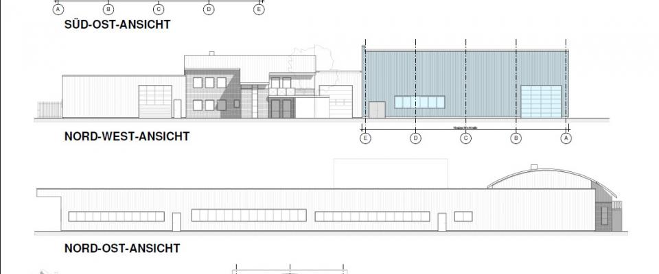 Lageplan Neue Halle